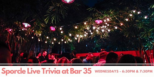 Wednesday Night Trivia at Bar35!