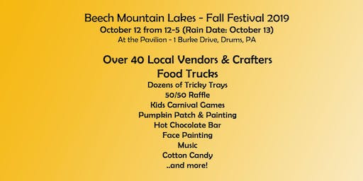 Beech Mountain Lakes - Fall Festival 2019