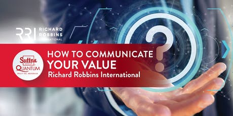 Class: How to Communicate Your Value with Storm Fletcher of RRI tickets