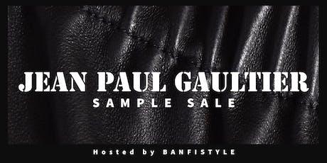 Jean Paul Gaultier Sample Sale tickets