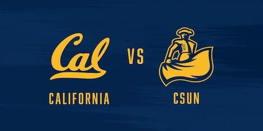 CAL vs. CSUN -  GAME 1 HOME OPENER