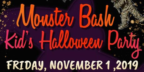 Monster Bash - Kid's Halloween Party tickets