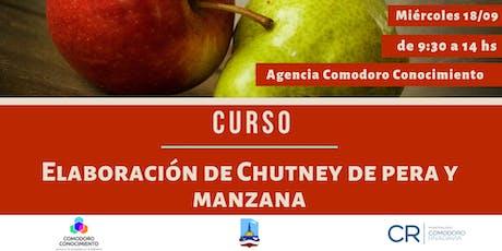 Curso: Elaboración de Chutney de Pera y Manzana entradas