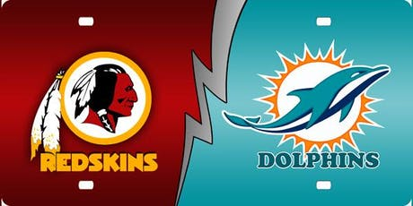 NFL Viewing Party at the TIKI BAR: DOLPHINS vs REDSKINS tickets
