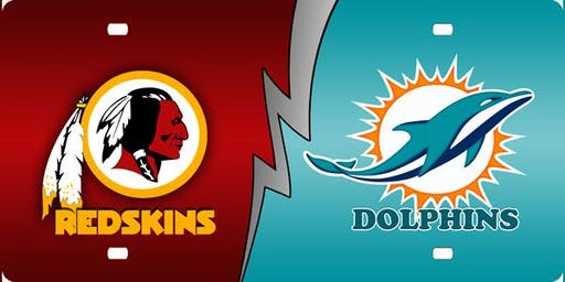 NFL Viewing Party at the TIKI BAR: DOLPHINS vs REDSKINS