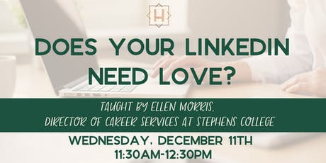 Does Your LinkedIn Need Love? tickets