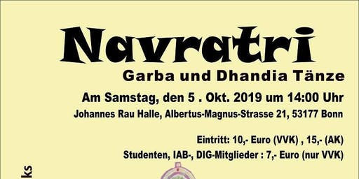 Navratri - Garba and Dhandia Dances in Bonn