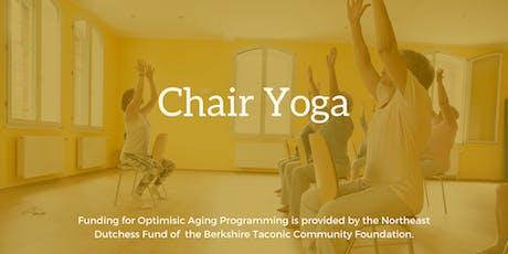 Chair Yoga - Mondays tickets