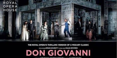 Live opera   Don Giovanni tickets