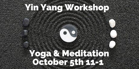 Yin Yang Workshop tickets