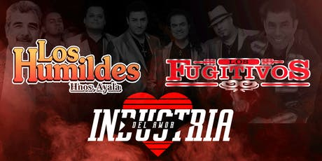 INDUSTRIA DEL AMOR - LOS HUMILDES tickets