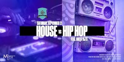 Myth Nightclub's 1st Ever House vs Hip Hop Party ft Guest DJ's