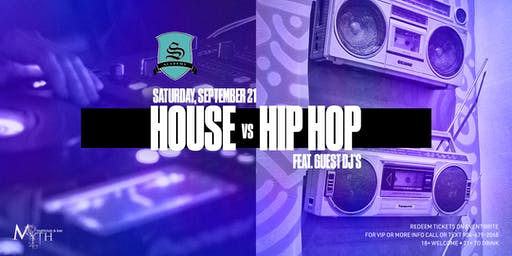 Myth Nightclub's 1st Ever House vs Hip Hop Party ft Guest DJ's