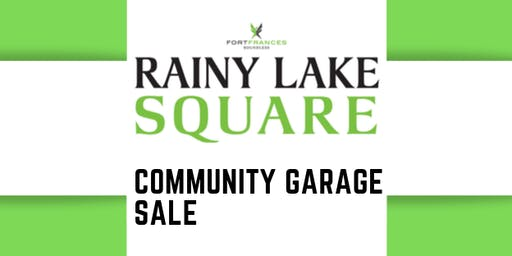 Rainy Lake Square Garage Sale Table Reservation