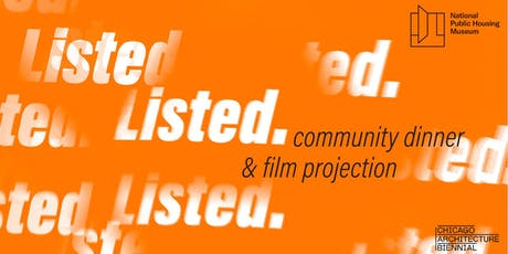 Community Dinner & Film Projection (FREE) tickets