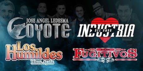 INDUSTRIA DEL AMOR - EL COYOTE tickets