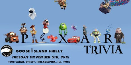 Pixar Trivia at Goose Island Philly tickets