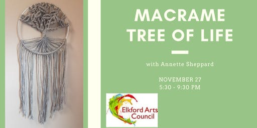 Macrame Tree Of Life ( Intermediate Class) With Annette Sheppard