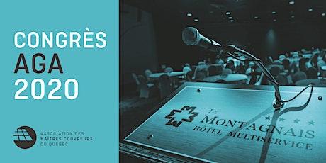 CONGRÈS AGA 2020 billets