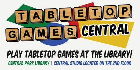 Tabletop Games Central tickets