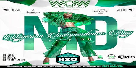 Lagos Party, Naija Independence Celebration+We Own Wednesdays tickets