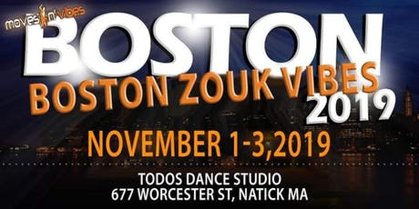 Boston Zouk Vibes Weekend tickets