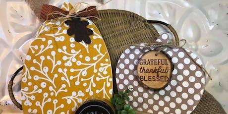 Pumpkins Pumpkins Everywhere-Create your own beautiful Fall display tickets