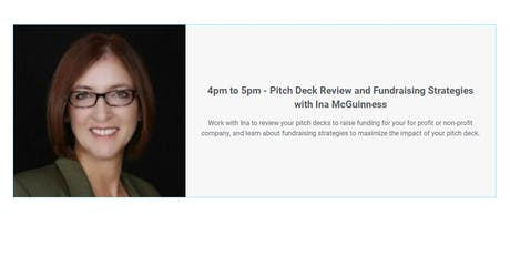 Pitch Deck Review and Fundraising Strategies with Ina McGuinness tickets
