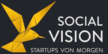 Social Vision - StartUps von Morgen Tickets