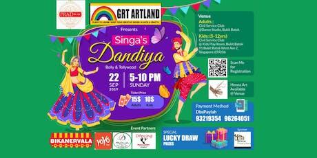 Singa's Dhandiya tickets