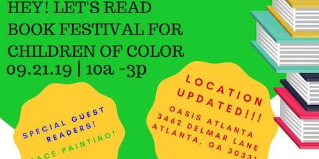 HEY! Let's Read! Book Festival for Children of Color! tickets