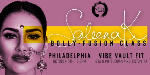 Saleena Khamamkar:  Bolly-Fusion Class - Philadelphia