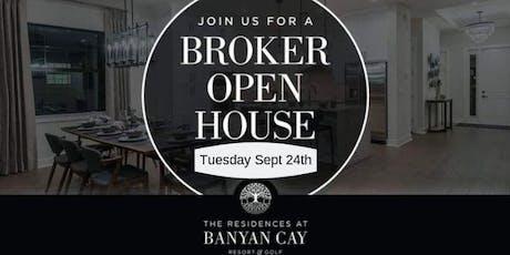 Keyes/Illustrated Banyan Cay Broker Open tickets