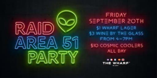 Raid Area-51 Party & Happy-Hour