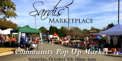 Free Community Pop Up Market at Sardis Marketplace