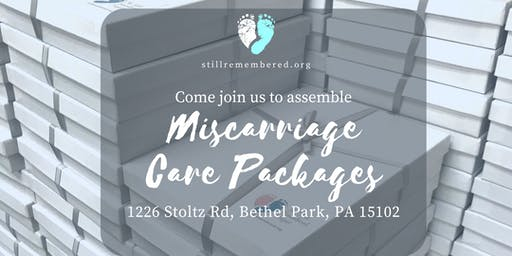 September Miscarriage Care Package Assembly Event