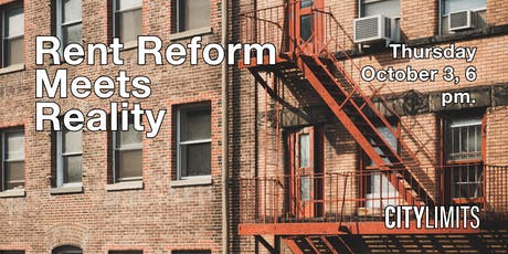 Rent Reform Meets Reality tickets