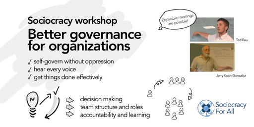 Sociocracy workshop: Better governance for organizations.
