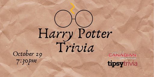 Harry Potter Movie Trivia - Oct 29, 7:30pm - CBH Grande Prairie