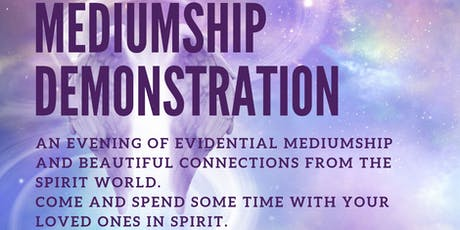 Mediumship Demonstration tickets