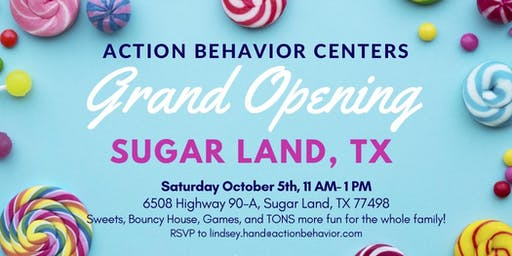 Action Behavior Centers Sugar Land Grand Opening!