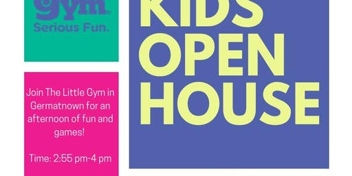Kids Open House at The Little Gym/FREE HIIT Class