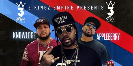 3 Kingz Empire Presents: Lil' Flip,  A.P. Appleberry, &  Knowl3dg3 Live tickets