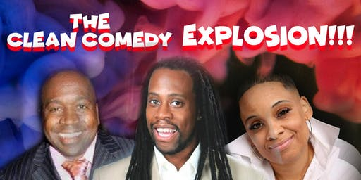 GWCC Presents; The Clean Comedy Explosion