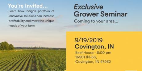 Exclusive Grower Dinner Seminar - Covington, IL  tickets