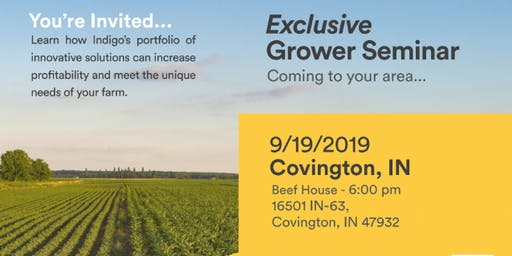 Exclusive Grower Dinner Seminar - Covington, IL