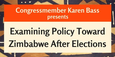 An Africa Policy Breakfast - Examining Policy Toward Zimbabwe After Elections