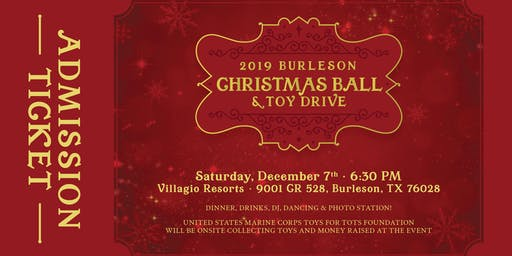 2019 Burleson Christmas Ball & Toy Drive