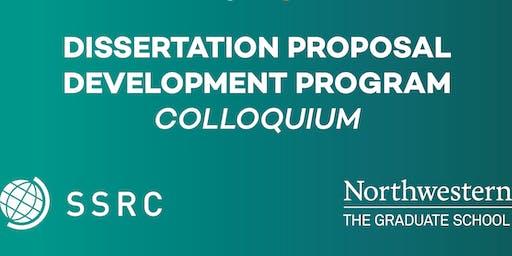 Dissertation Proposal Development (DPD) Program Fall Colloquium 2019