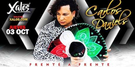 Carlos Daniels en Anaheim tickets